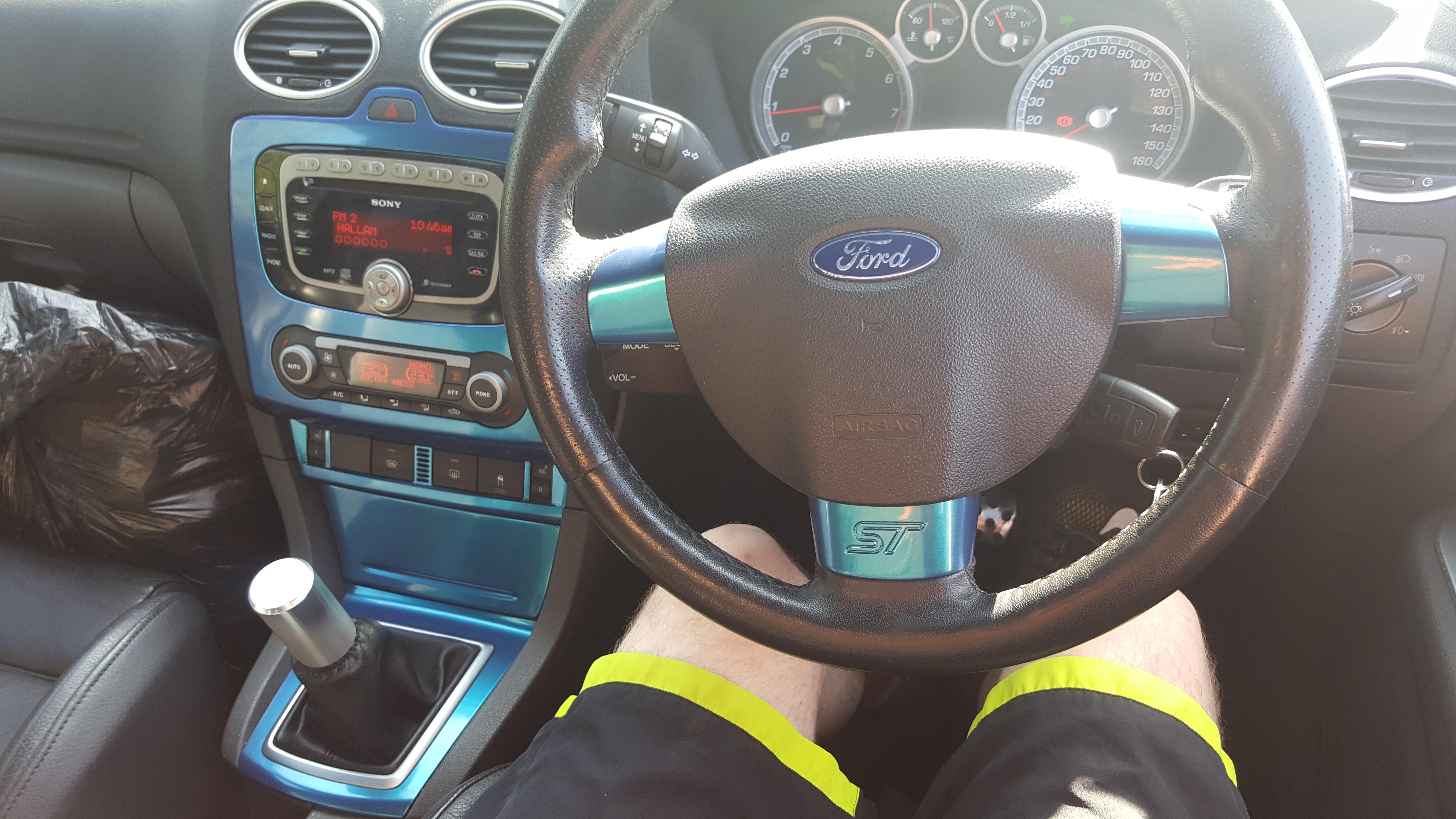 Ford Focus ST MK2 Interior Wrap