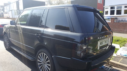 Range Rover - 5% Limo Black Tint