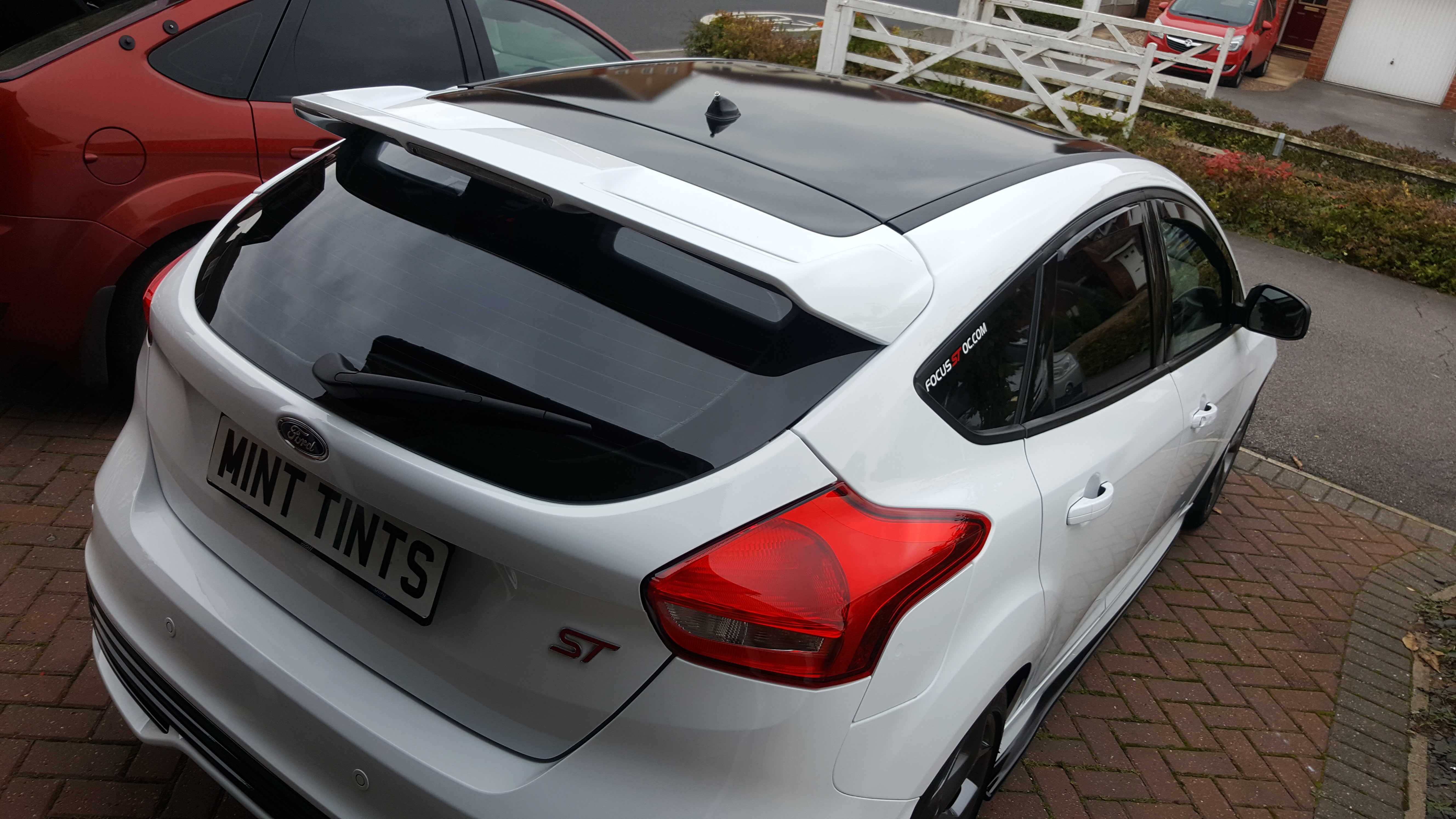 Ford Focus ST3 Roof Wrap
