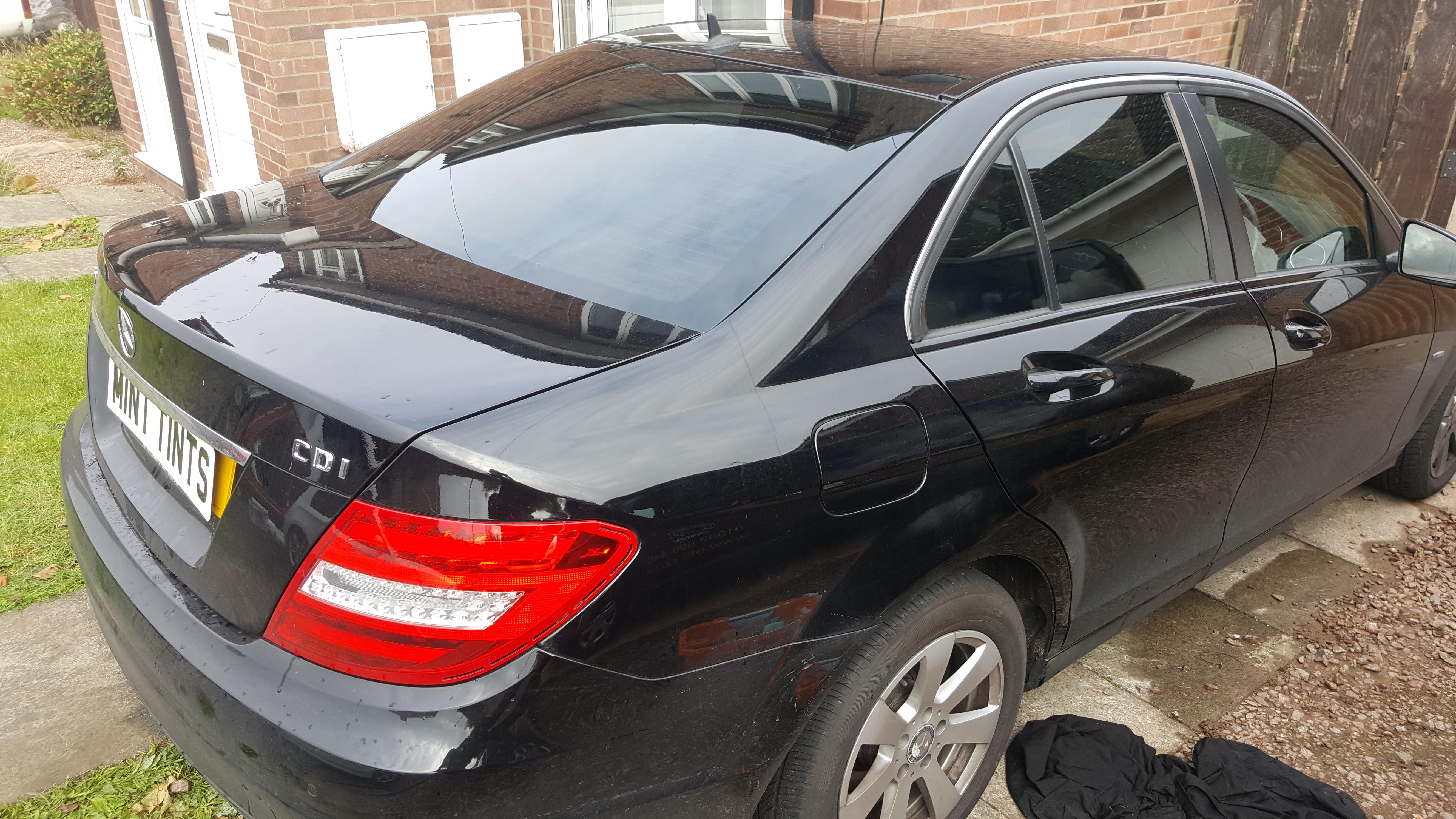 Mercedes C220 - 20% Dark Smoke