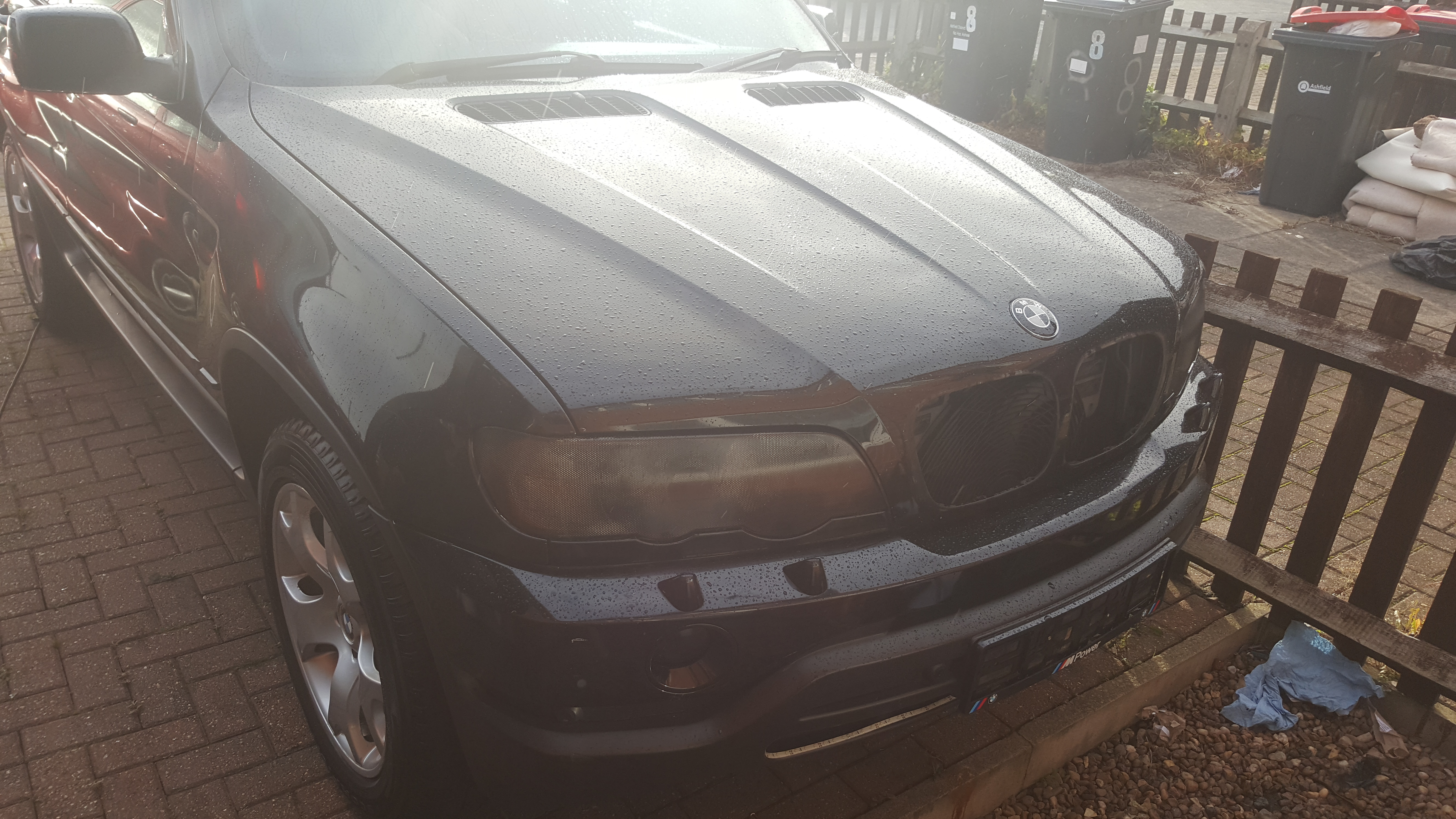 BMW X5 Headlight Tint