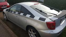 Toyota Celica - 5% Limo Black window