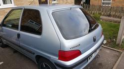 Peugeot 106 - 5% Limo Black Tint