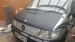 Mercedes Vito - Carbon Fibre Bonnet