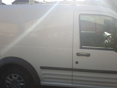 Ford Transit Connect Sign Writing