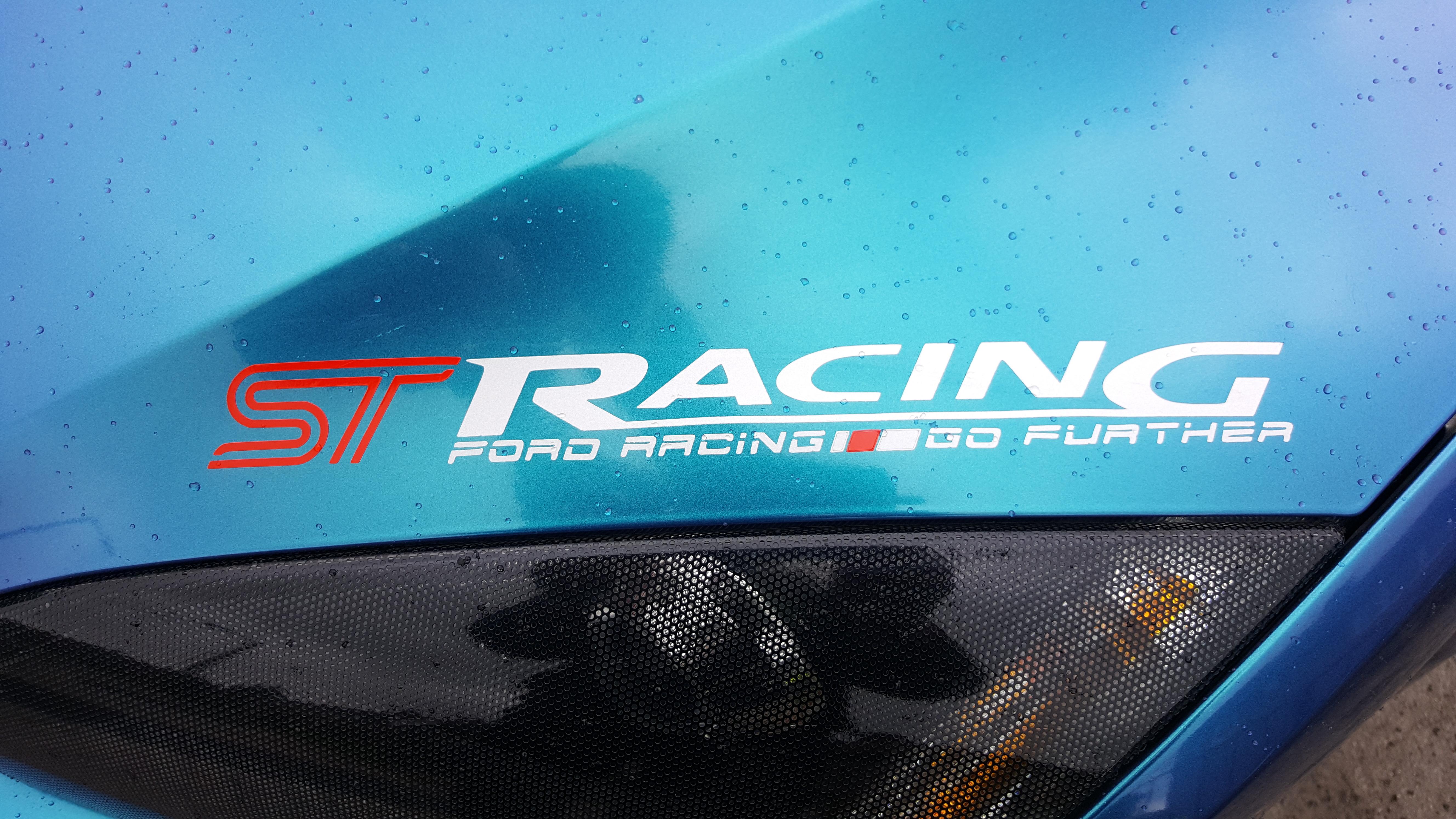 ST Racing Vinyl Sticker/Graphic