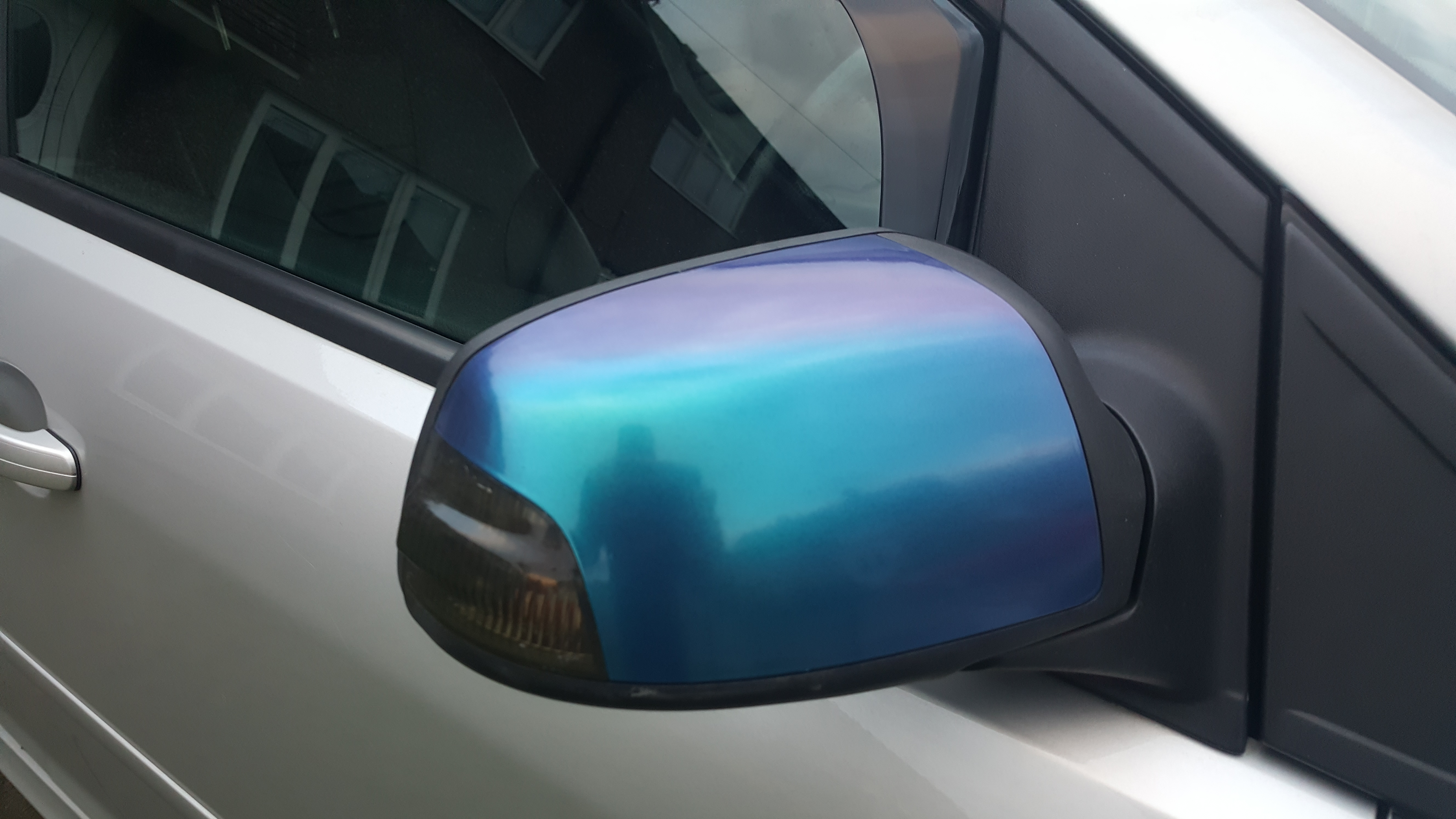 Ford Focus ST3 Wing Mirror Wrap