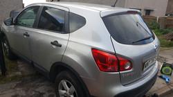 Nissan Qashqai - 5% Limo Black Tint