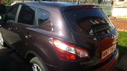 Nissan Qashqai - 20% Dark Smoke Tint