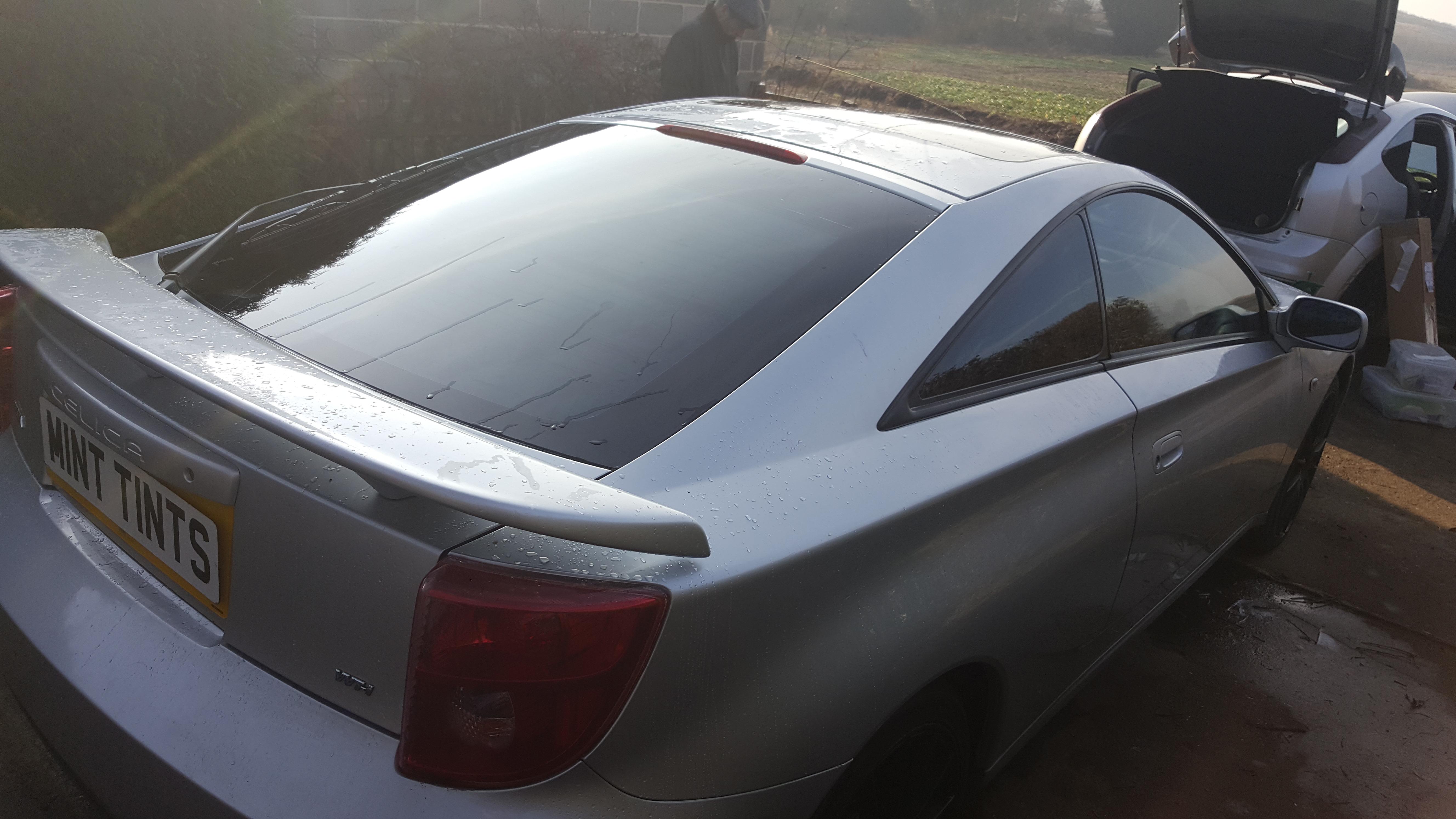 Toyota Celica - 5% Limo Black Tint