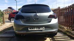 Vauxhall Astra - Rear Light Tint