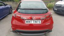 Honda Civic Window & Front & Rear Light Tint