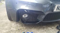 BMW M3 - Gloss Black Bumper Detail