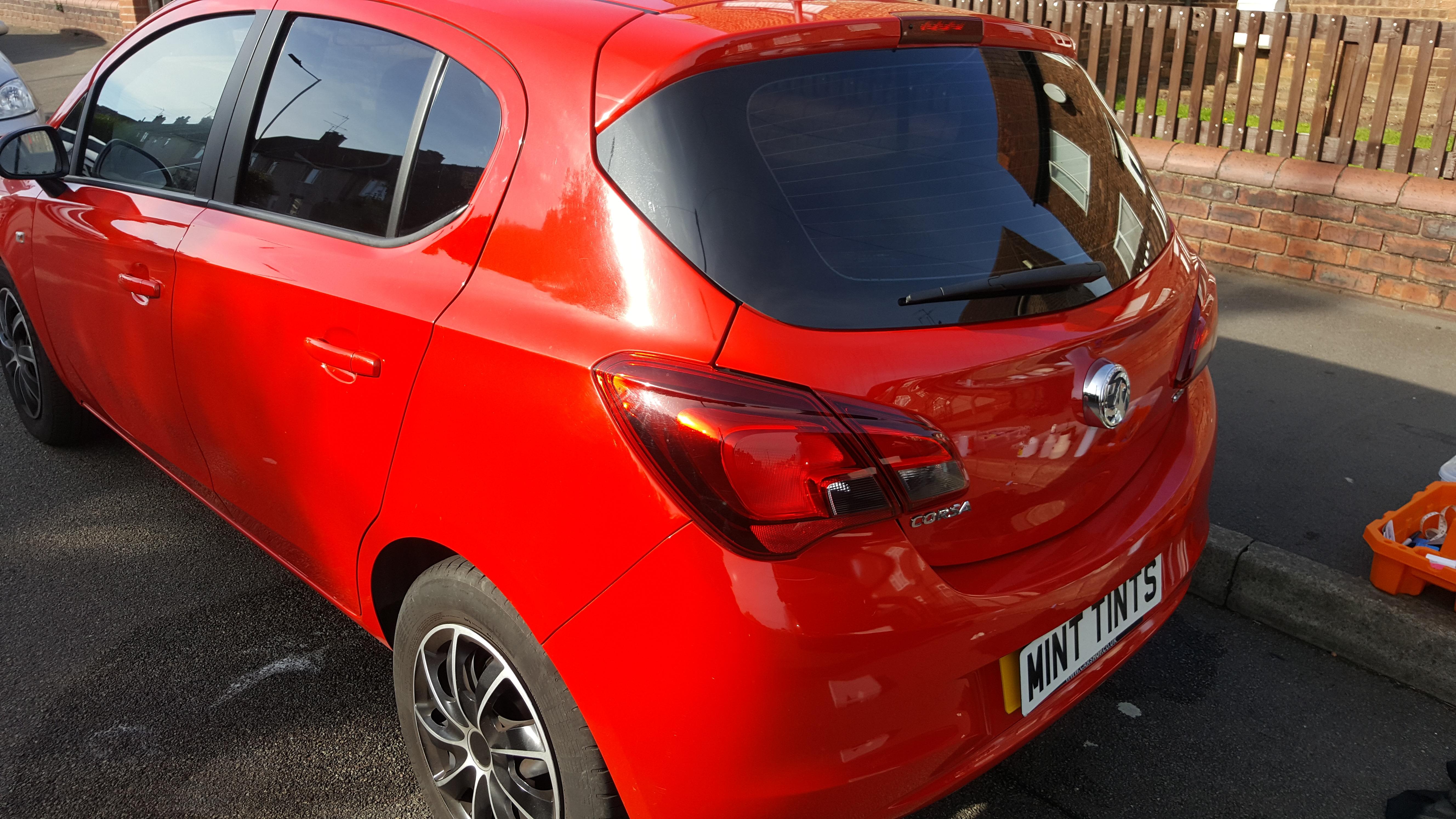 Vauxhall Corsa - 20% Dark Smoke Tint