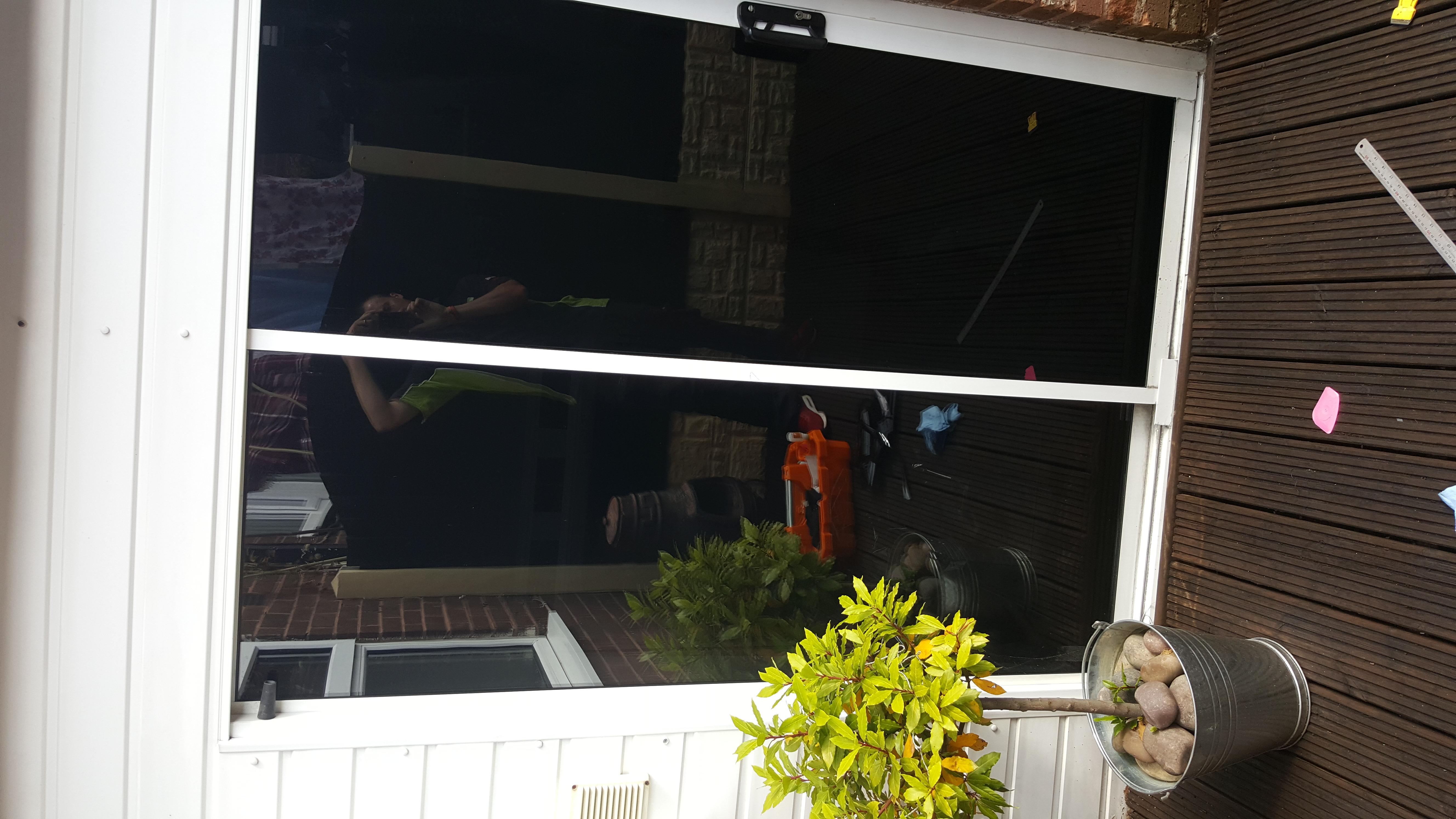 Patio Doors - 20% Dark Smoke