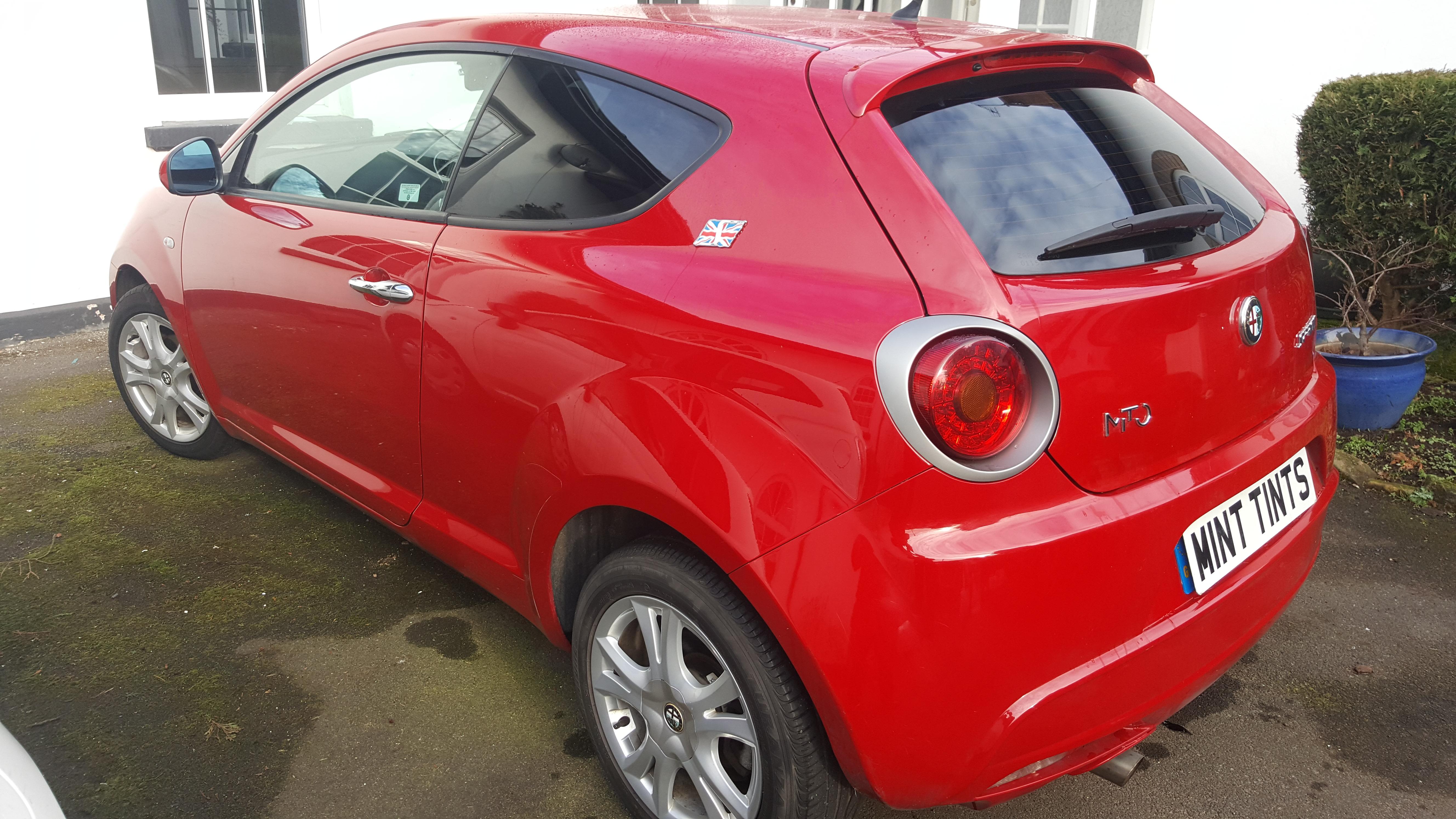 Alfa Romeo Mito - 5% Limo Black Tin