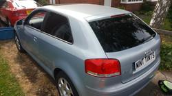 Audi A3 - 5% Limo Black Tint