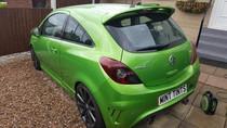 Vauxhall Corsa VXR Nurburg Edition