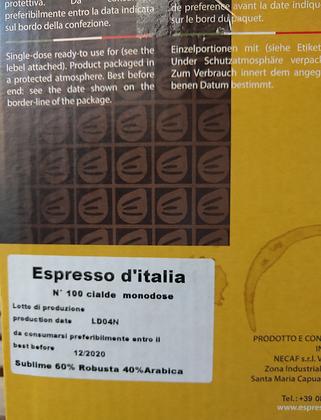 Kaffeepads - Sublime (100 Stück)