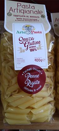 Arte e Pasta - Penne rigate - 400 g - Glutenfreie