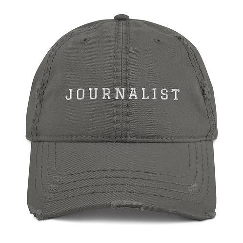 """""""JOURNALIST"""" DISTRESSED HAT"""