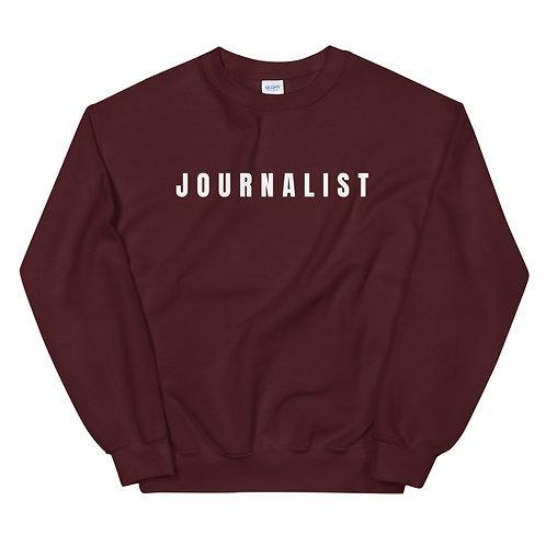 JOURNALIST CREWNECK