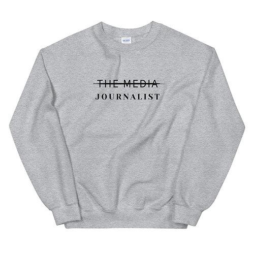 NOT THE MEDIA CREWNECK