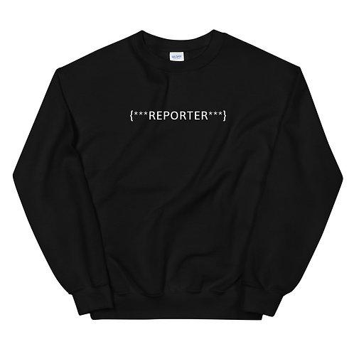 REPORTER CREWNECK