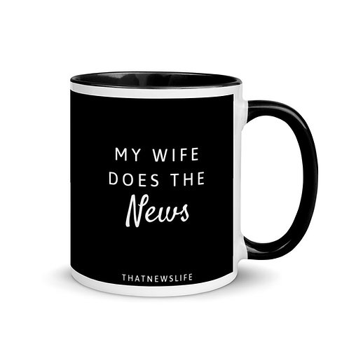 MY WIFE DOES THE NEWS