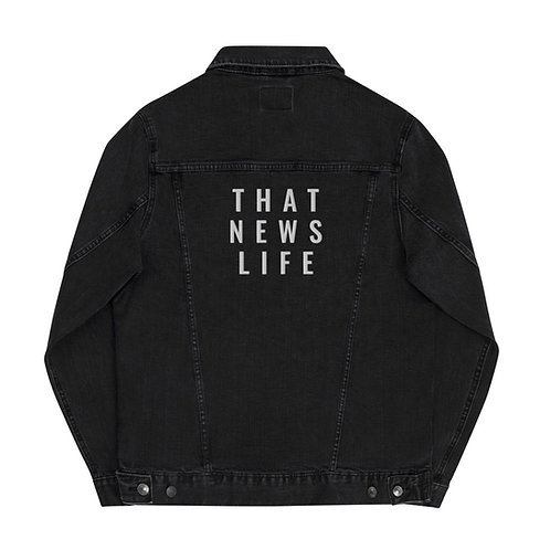 TNL UNISEX EMBROIDERED DEMIN JACKET