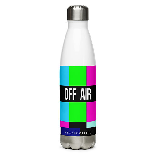 'OFF AIR' STAINLESS STEEL WATER BOTTLE