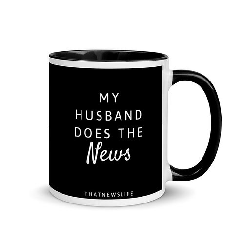 MY HUSBAND DOES THE NEWS