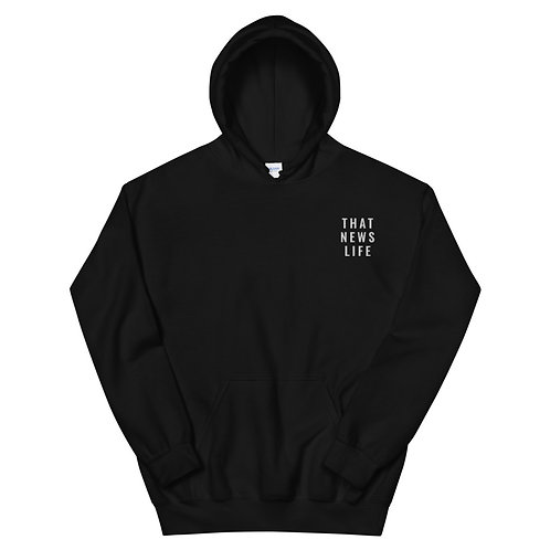 TNL WHITE EMBROIDERED HOODIE