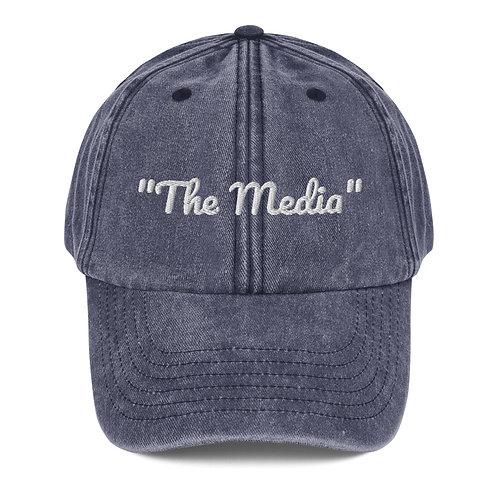 """""""THE MEDIA"""" VINTAGE HAT"""