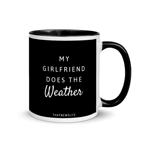 MY GF DOES THE WEATHER