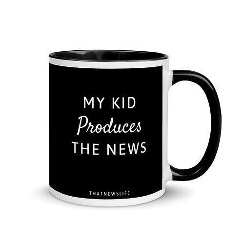 MY KID PRODUCES THE NEWS