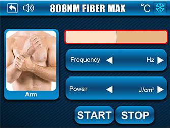 808nm FIBER MAX