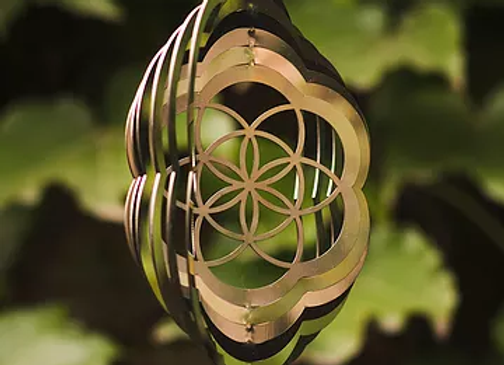 Wind spinner acero inoxidable mediano