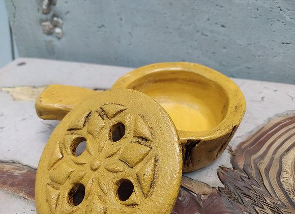 Defumadr mini Zen con mango y tapa