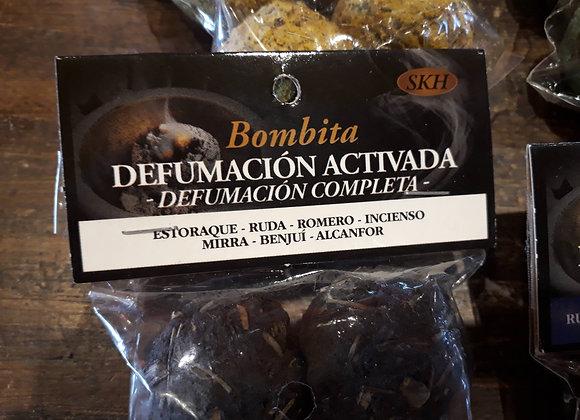 Bomba activa  defumación completa