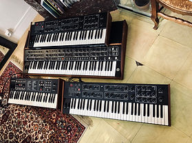 Sequential Circuits T8 and Prophet 600