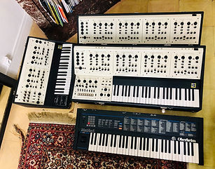 Oberheim Four Voices and Two Voices