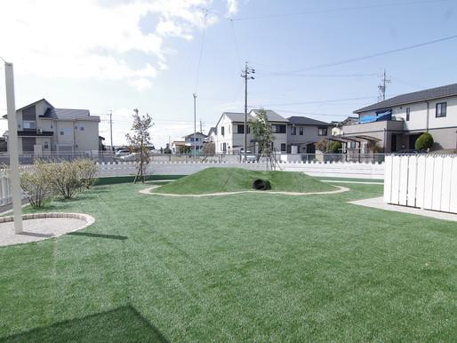 ワンちゃんの為の人工芝のご紹介