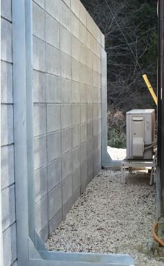 狭小地のCB塀の耐震化に FITパワー