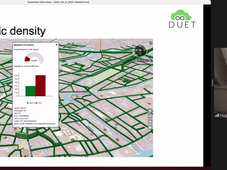 DUET Introduces Digital Twins Concept to the Global Forum