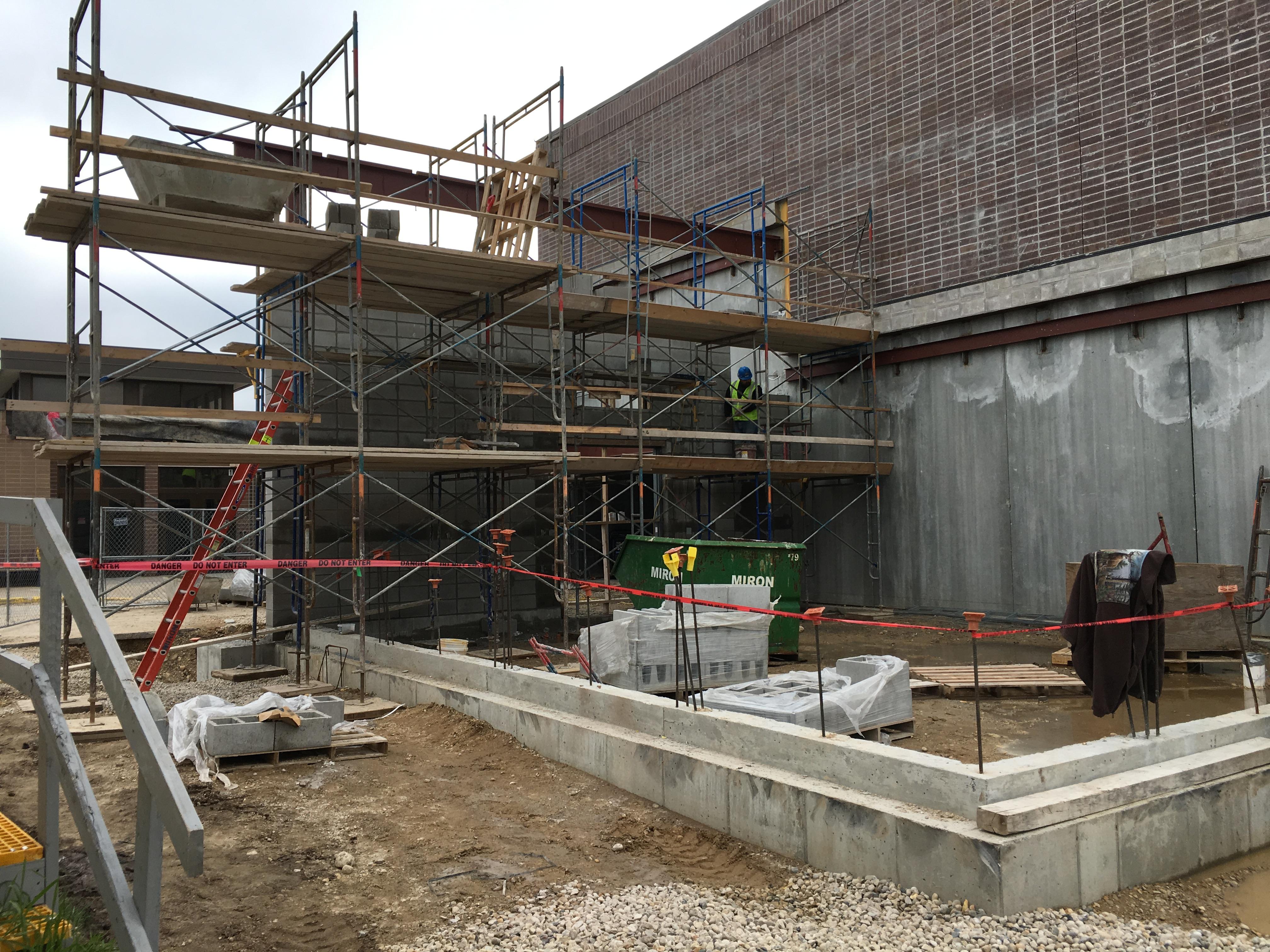 Allenton - Community Room Walls Starting by Main Entry