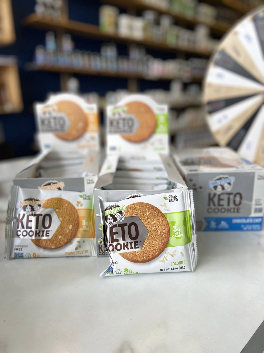 Lenny&Larry's Keto Cookies (boîte)