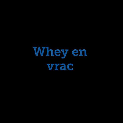 WHEY EN VRAC/lbs