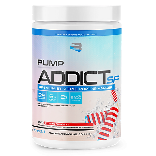 Believe PUMP Addict sans stimulants