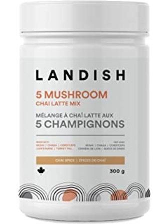 Landish 5 Champignons Chaï Latté